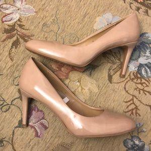 Merona Nude 3 Inch Heels - size 7.5